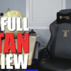 SecretLab Titan Review 2018: A Big Awesome Gaming Chair