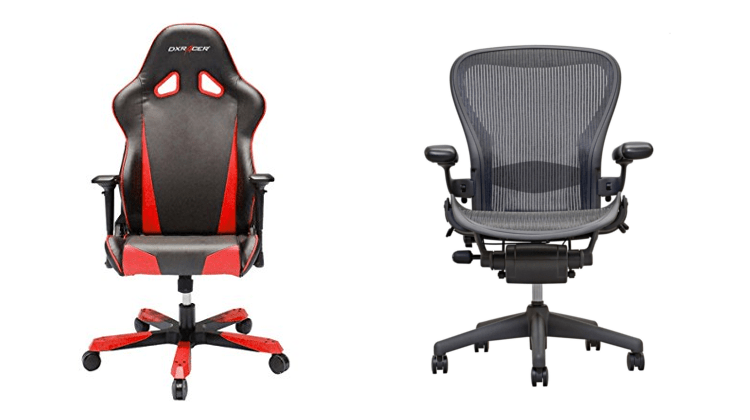 Gaming Chairs Vs Office Chairs Which Chair Style Is Best