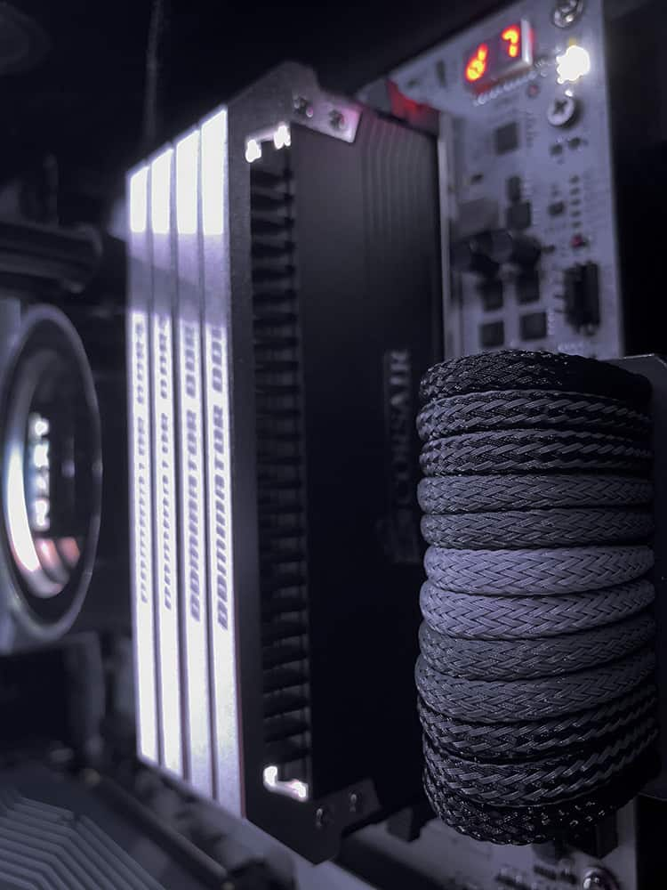 Cable Management Close Up